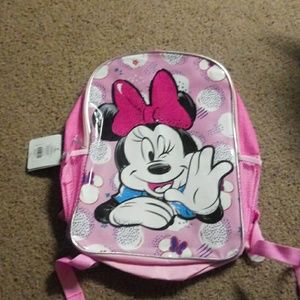 Nwt Minnie Mouse backpack